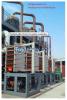 Multiple-effect forced circulation evaporator