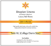 Utopian Linens Luxury Bed Sheets Set Twin XL (Collage Dorm Size)