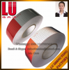 Truck Traffic Warning Red and White Safety Dot-C2 Glass Bead High Intensity Grade Reflective Tape Traffic Signs Vinyl Material Sticker Sheeting Tape