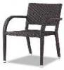 popular rattan garden dining chair for sale