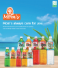 Mom's Aloe Vera Drink(500ml/1.5L with Original/Mango/Pineapple/Pomegranate/Coconut flavor) No Preservatives No Fat