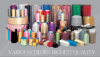 HIGH QUALITY Metalic Yarn(Flat/Twisted/Supported/SpaceTwisted/RoundCovered yarn)