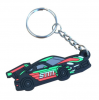 Custom Soft Key Chain PVC Silicone Rubber Logo Keyring