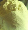 sulphur powder, ground
