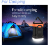 Senwok Rechargeable LED Camping Lantern & 10000mAh Power Bank - Super Bright LED Camping Lights, Portable Waterproof Lanterns for Hiking Fishing