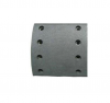 WVA, BFMC, FSMI high quality brake lining with asbestos material and non-asbestos material