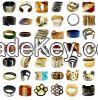 Buffalo horn bracelets jewelry handmade by AnhCraft