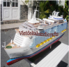 Wooden boats/ wooden ships for home decorating