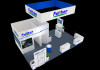 20x20 Aluminum trade show booth flexible modular stands