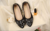 2018 new style reinstone casual shoes and ballet shoes fashionable shoes