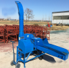 Full automatic corn silage round baler and wrapper machine for farm use