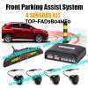TOPCCD Front Audio Buzzer LED Display Parking Sensor Kit (TOP-FAD9B04MF0)