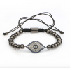 Eye Metal Beads Bracelet