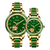 Factory Direct Sale Ladies Luxury Jade Wrist Watch
