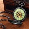 Custom Fashion Jewelry Analog Mechanical Pocket Watch