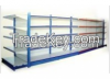 warehouse shelf. storage shelf