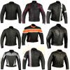 Sell Motorbike Motorcycle Leather Jacket Womens and Mens Jacket