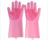 Silicone Household Gloves Kitchen Dish Washing Gloves