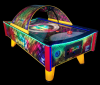 Air Game Fantasy - Curved air hockey table