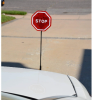 Modern Flashing LED Stop Sign Garage Parking Assistant System