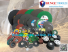 Abrasive grinding and cut-off wheels