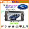 """7"""" Win CE 6.0 car dvd player for ford focus Bluetooth GPS 3g Stereo FM Steering wheel control touch screen DH7009"""