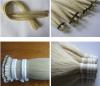 32'' white horse tail hair, long fiddle bow hair