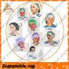 Disposable nonwoven cap