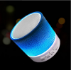 Professional factory offer portable mini wireless bluetooth speaker with led colorful light