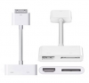 Sell 30 Pin to USB cable with3-Port USB 2.0 HUB for Apple