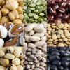 Beans - Flat beans - Green mung beans - Red kidney beans