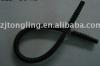 Black fuel pump hose