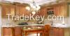 melamine faced wooden kitchen cabinet