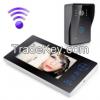 "Sy8501A11 2.4GHz 7"" TFT Wireless Video Door Phone Intercom Camera Night Vision Visual Doorbell Home Security"