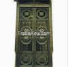 Custom Entry Bronze Gates-GBD023