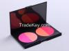China supplier Makeup powder blush eye shadow makeup brush set