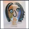 Handmade Glass Figures Face Decoration