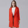 Hot on sale fashion medium style thicken woollen women coat for winter