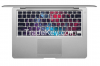 Milky Space keyboard for Macbook Pro Vinyl Decal Sticker Skin Cover cases 13 15 17