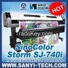1.8 Meters Large Format Printer For Outdoor & Indoor Advertising (Eco Solvent Ink)---SinoColor SJ-740i
