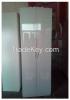 Wood two-door wardrobe cabinet