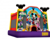 Amusement Park Inflatable Jumping Castle /Airplane House With Logo Printing