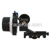 With A/B Limit Fashion Metal Slot DSLR and Video Camera Follow Focus