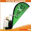 Custom Flying Banner Displays backpack flag