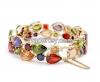 Ms colorful zircon high-grade bracelet, weddings gifts