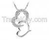 Zircon Jewelry Pendant for Necklace