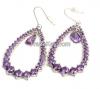 High quality Cubic AAA zirconia drop earrings