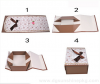 Exquisite collapsible paper box