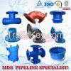 ductile iron pipe fittings, DI pipe fittings