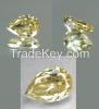 0.72ct Fancy Yellow Pear Cut Loose Diamond